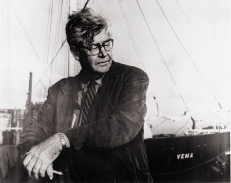 Maurice Ewing and the schooner Vema. Image from Neptune's Needle