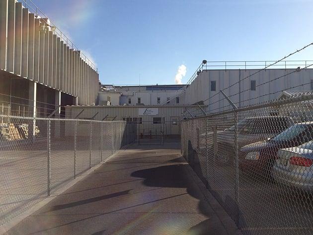 Cargill beef-processing plant, Schuyler, Nebraska. Photograph © Ted Conover