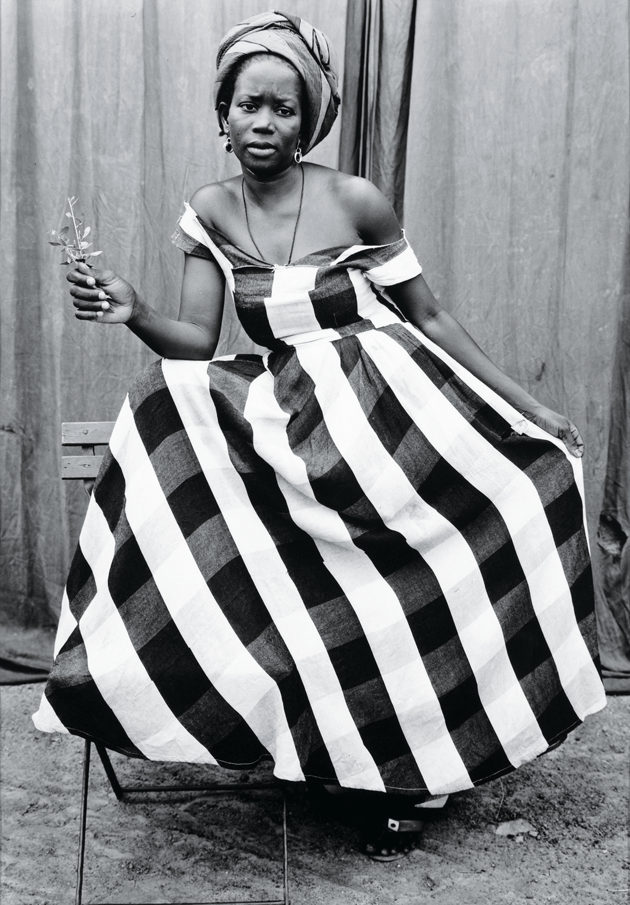 Untitled photograph, 1952–55, by Seydou Keïta. Courtesy The Walther Collection and CAAC–The Pigozzi Collection, Geneva