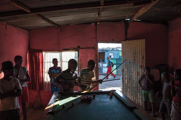 Photograph from Gugulethu, South Africa © Felix Seuffert/Agence VU
