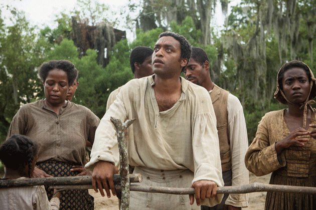 Chiwetel Ejiofor as Solomon Northup in 12 Years a Slave © Fox Searchlight