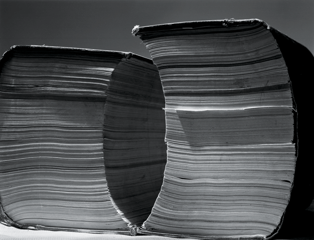 """Two Tall Books,"" by Abelardo Morell. Courtesy the artist and Edwynn Houk Gallery, New York City"