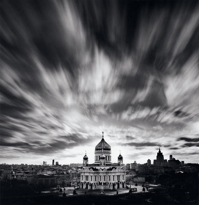Cathedral of Christ the Savior, Moscow, Russia, by Michael Kenna