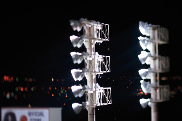"""""""Stadium Lights,"""" by Herb Stratford"""