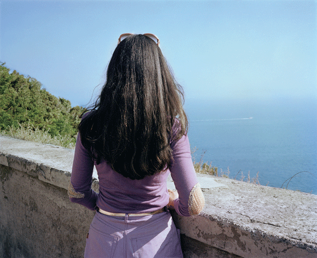Photograph from Naples by Charles Traub, whose monograph Dolce Via was published last year by Damiani.