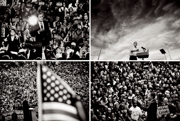 Photographs from Barack Obama's first presidential campaign by Ron Antonelli