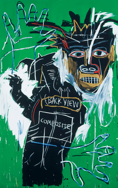 Self-Portrait as a Heel, Part Two by Jean-Michel Basquiat © Christie's Images/Bridgeman Images