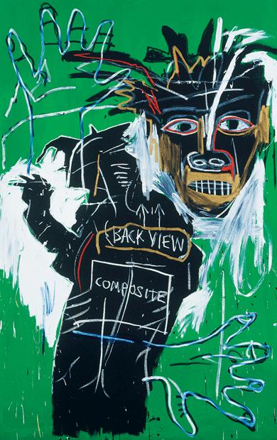 Self-Portrait as a Heel, Part Two by Jean-Michel Basquiat © Christie's Images/Bridgeman Images
