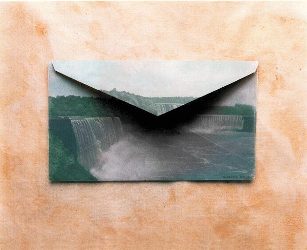 """Envelope #1562,"" by Andrew Bush. Courtesy the artist"