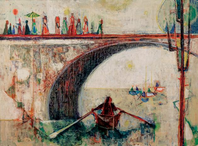Sunday Bridge, 1952