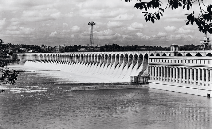Wilson Dam, c. 1943. Courtesy the National Archives at Atlanta