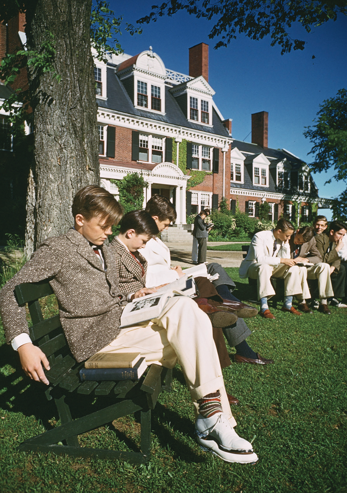 Groton School, June 1940 © Ivan Dmitri/Michael Ochs Archives/Getty Images