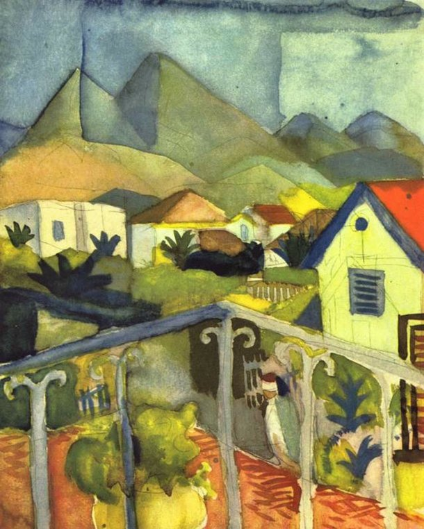 st-germain-at-tunis-by-august-macke